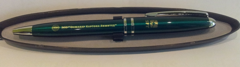 Лазер.грав.на окраш.метал. ручке