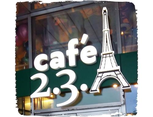 "Еда и красота! ""Cafe2.3.A"""